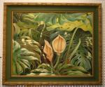 Bobbie Allen - Elusive Monstera Bloom - SOLD