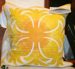 Authentic+Hawaiian+Quilt+Pillow+Cover+-+Pineapple+-+20%22+x+20%22