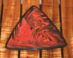 Hawaiian+Lava+Ware+Small+Triangle+Plate