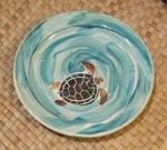 Honu+Ocean+Small+Plate+-+Ceramic