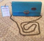 Cork+Mahua+Wallet+Purse+-+Teal