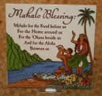 Mahalo+Blessing+-+6%22+Hawaiian+Ceramic+Tile